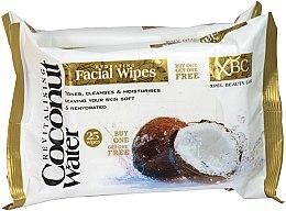 Düfte, Parfümerie und Kosmetik Gesichtsreinigungstücher mit Kokosnuss - Xpel Marketing Ltd Coconut Water Facial Wipes