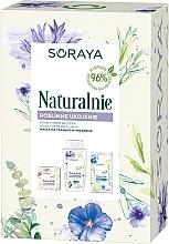 Düfte, Parfümerie und Kosmetik Gesichtspflegeset - Naturalnie (Tagescreme 50ml + Mizellenwasser 200ml + Maske 15g)