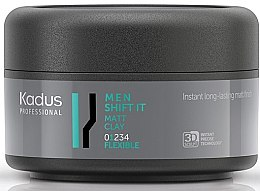 Düfte, Parfümerie und Kosmetik Mattierende Haartonerde leichter Halt - Kadus Professional Men Shift It Matt Clay