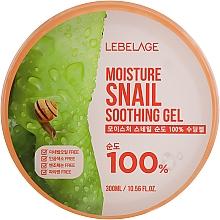 Düfte, Parfümerie und Kosmetik 100% Beruhigendes Gel für Gesicht und Körper mit Schneckenmucin - Lebelage Moisture Snail 100% Soothing Gel
