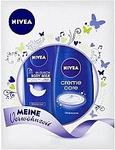 Düfte, Parfümerie und Kosmetik Körperpflegeset - Nivea Gift Set (Duschcreme 250ml + Körpermilch 250ml)