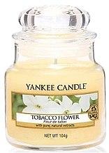 Duftkerze im Glas Tobacco Flower - Yankee Candle Tobacco Flower Jar  — Bild N4