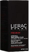 Gesichtspflegeset - Lierac Homme (Anti-Aging Fluid 40ml + Duschgel 200ml + Kosmetiktasche) — Bild N4
