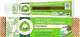 Düfte, Parfümerie und Kosmetik Natürliche Zahnpasta mit Zeder-Extrakt - Rezepte der Oma Agafja