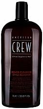 Tägliches Shampoo zur Entfernung von Rückständen für alle Haartypen - American Crew Power Cleanser Style Remover — Bild N4