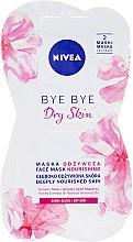 Düfte, Parfümerie und Kosmetik Pflegende Gesichtsmaske mit Mandelöl und Honigextrakt für trockene Haut - Nivea Bye Bye Dry Skin