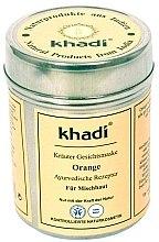 """Düfte, Parfümerie und Kosmetik Kräuter Gesichts- und Körpermaske """"Orange"""" - Khadi"""