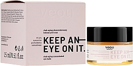 Düfte, Parfümerie und Kosmetik Konzentrierter Anti-Aging Balsam für die Augenpartie - Veoli Botanica Anti-aging Concentrated Eye Balm Keep An Eye On It
