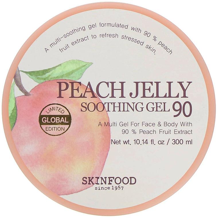 Beruhigendes Körpergel mit Pfirsichextrakt - Skinfood Peach Jelly Soothing Gel — Bild N1