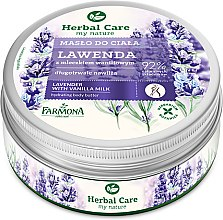 Düfte, Parfümerie und Kosmetik Körperbutter mit Lavendel - Farmona Herbal Care