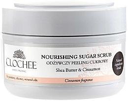 Düfte, Parfümerie und Kosmetik Pflegendes Zuckerpeeling für den Körper mit Sheabutter und Zimt - Clochee Nourishing Body Scrub Cinnamon Fragrance