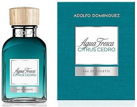 Adolfo Dominguez Agua Fresca Citrus Cedro - Eau de Toilette — Bild N1