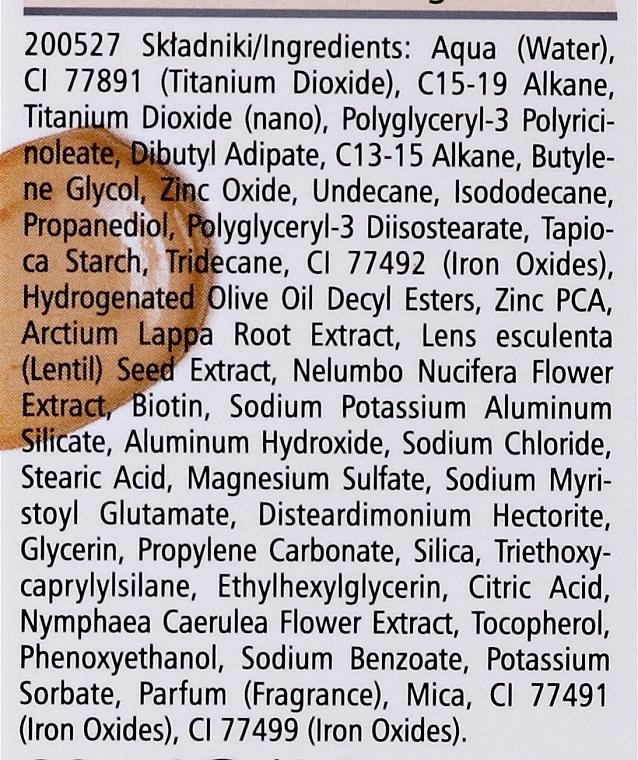 Getöntes mattierendes Gesichtsfluid SPF 30 - Pharmaceris F Mineral Mattifying Fluid Dermo-Foundation SPF 30 — Bild N4