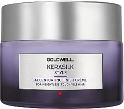 Düfte, Parfümerie und Kosmetik Veredelnde Finish-Creme für alle Haartypen - Goldwell Kerasilk Accentuating Finish Creme