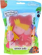 Düfte, Parfümerie und Kosmetik Kinder-Badeschwamm Ben & Holly Prinzessin Holly rosa - Suavipiel Ben & Holly Bath Sponge