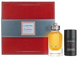 Düfte, Parfümerie und Kosmetik Cartier L'Envol de Cartier - Duftset (Eau de Parfum 80ml + Deodorant 75ml)