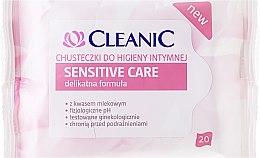 Düfte, Parfümerie und Kosmetik Intim-Pflegetücher mit Milchsäure 10 St. - Cleanic Sensitive Care Wipes