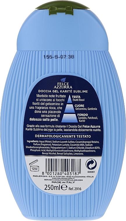 Feuchtigkeitsspendendes Duschgel mit Sheabutter - Paglieri Felce Azzurra Benessere Shower Gel — Bild N2