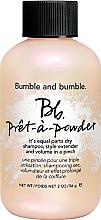 Düfte, Parfümerie und Kosmetik Trockenes Shampoo-Puder für normales und fettiges Haar - Bumble and Bumble Pret-A-Powder Dry Shampoo