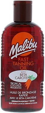 Bräunungsöl mit Carotin - Malibu Fast Tanning Oil with Carotene — Bild N1