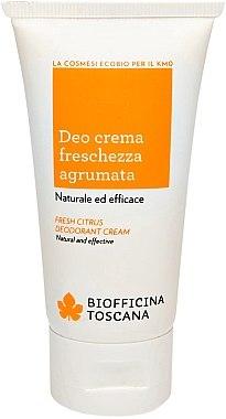 Erfrischende Deo-Creme - Biofficina Toscana Fresh Citrus Deodorant Cream — Bild N1