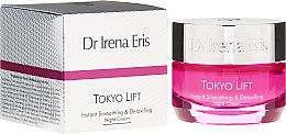 Düfte, Parfümerie und Kosmetik Gesichtscreme mit Kürbis-Extrakt und Hyaluronsäure - Dr Irena Eris Tokyo Lift Instant Smoothing & Detoxifing Night Cream