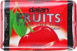 Düfte, Parfümerie und Kosmetik Vitamin-Seife mit Sauerkirsche - Dalan Fruits Vitamin Care Soap Cherry