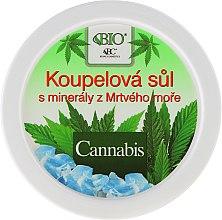 Düfte, Parfümerie und Kosmetik Badesalze - Bione Cosmetics Cannabis Bath Salt with Dead Sea Minerals