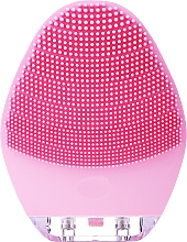 Düfte, Parfümerie und Kosmetik Gesichtsreinigungsbürste aus Silikon BR-040 rosa - Lewer Silicone Facial Cleansing Brush