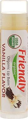 """Feuchtigkeitsspendender Lippenbalsam """"Vanille"""" - Friendly Organic Lip Balm Vannilla — Bild N1"""