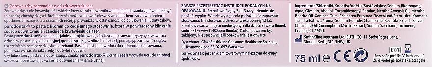 Zahnpasta Extra Fresh gegen Zahnfleischbluten - Parodontax Extra Fresh — Bild N2