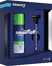 Düfte, Parfümerie und Kosmetik Rasierset - Gillette Mach3 Start (Rasierer 1St. + Rasierschaum 100ml)