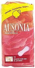 Düfte, Parfümerie und Kosmetik Slipeinlagen Anatomica Sanitary Towels 14 St. - Ausonia