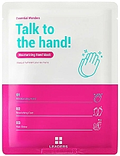 Düfte, Parfümerie und Kosmetik Aufweichende und feuchtigkeitsspendende Handmaske für trockene und raue Hände - Leaders Essential Wonders Talk To The Hand! Mask
