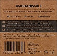 100% Natürliches bleichendes Zahnpulver mit Holzkohle - Mohani Smile Teeth Whitening Charcoal Powder — Bild N3