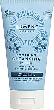 Düfte, Parfümerie und Kosmetik Beruhigende Gesichtsreinigungsmilch mit nordischem Heidelbeerwasser - Lumene Sensitive Soothing Cleansing Milk