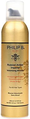 Haarschaum-Mousse für mehr Volumen - Philip B Russian Amber Imperial Volumizing Mousse — Bild N1
