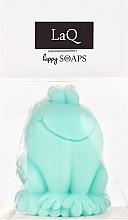 Düfte, Parfümerie und Kosmetik Handgemachte Naturseife Frosch mit Kiwiduft - LaQ Happy Soaps Natural Soap