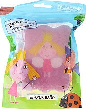 Düfte, Parfümerie und Kosmetik Kinder-Badeschwamm Ben & Holly Holly rosa 2 - Suavipiel Ben & Holly
