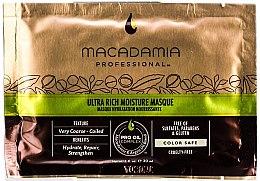 Düfte, Parfümerie und Kosmetik Ultra feuchtigkeitsspendende Haarmaske mit Macadamia- und Arganöl (Probe) - Macadamia Natural Oil Ultra Rich Moisture Masque