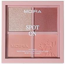 Düfte, Parfümerie und Kosmetik Make-up Palette - Moira Spot On Face Palette