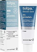 Feuchtigkeitsspendende Anti-Aging Tagescreme 35+ - Tolpa Provivo 35+ Moisturising Anti-Age Cream — Bild N1