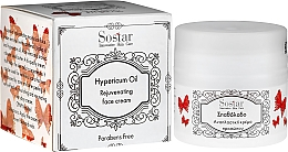 Düfte, Parfümerie und Kosmetik Feuchtigkeitsspendende und verjüngende Gesichtscreme mit Hypericumöl - Sostar Natural Rejuvenating Moisturizer Face Cream with Hypericum Oil