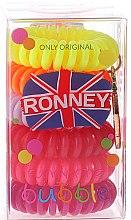 Düfte, Parfümerie und Kosmetik Haargummis Farb-Mix 6 St. №6 - Ronney Professional Funny Ring Bubble 6