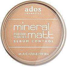 Düfte, Parfümerie und Kosmetik Gesichtspuder - Ados MINERAL MATT