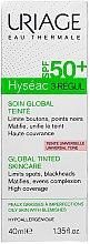 Düfte, Parfümerie und Kosmetik Getönte Gesichtscreme SPF 50+ - Uriage Hyseac 3-Regul Global Tinted Skincare SPF50+