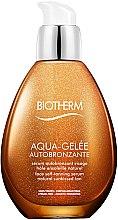 Düfte, Parfümerie und Kosmetik Autobenzant-Serum - Biotherm Aqua-Gelee Autobronzante