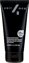 Düfte, Parfümerie und Kosmetik Parfümiertes Shampoo für Bart mit Zitrusfrüchten und Moschus - Unit4Men Citrus&Musk Perfumed Beard Shampoo
