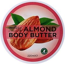 Düfte, Parfümerie und Kosmetik Körperbutter mit Mandel für normale bis trockene Haut - Derma V10
