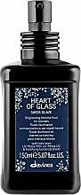 Düfte, Parfümerie und Kosmetik Thermoschützendes Haarfluid für blondes Haar - Davines Heart Of Glass Sheer Glaze